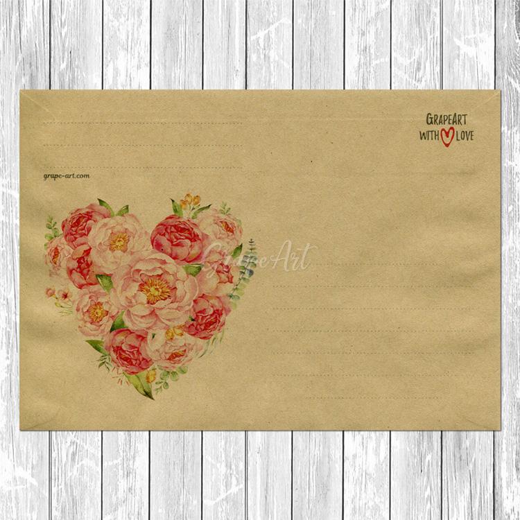 Конверты для открытки 10х15